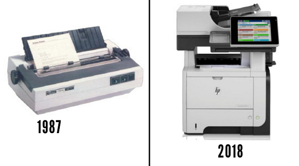 printer evolution